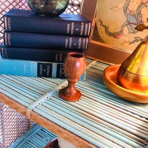 Small wooden chalice